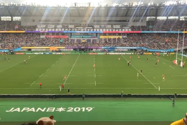 Article image for Australian radio host spat on at the Japan Rugby World Cup