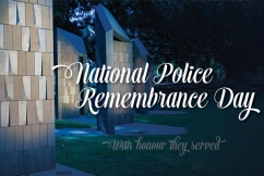 'Extraordinary people': Thousands pause for National Police Remembrance Day