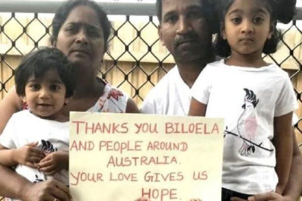 Article image for Sri Lankan family granted more time in Australia