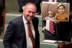 Barnaby Joyce takes a stand against deportation of Sri Lankan family