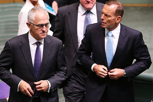 Article image for Tony Abbott blames Malcolm Turnbull for his demise as leader
