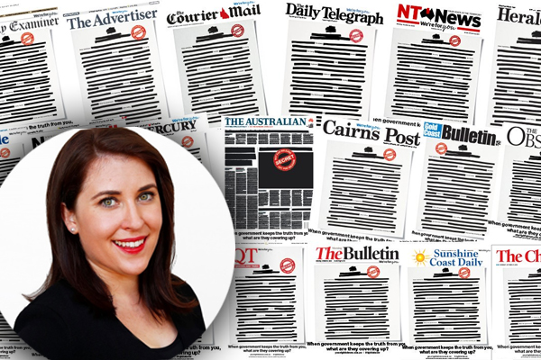 Article image for The journalist who sparked the media's nationwide campaign against the government
