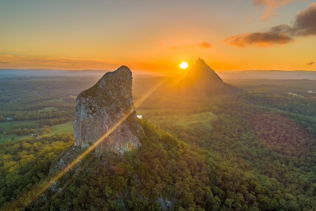 Article image for Calls to close the Glass House Mountains to climbers