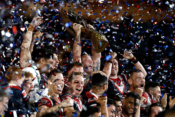 Article image for 'Greedy bastards': NSW forks out huge sum to keep NRL grand final