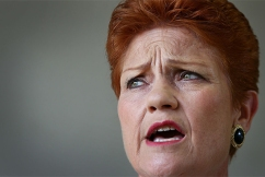 'I want to clean up the act of the whole damn lot of them': Pauline Hanson