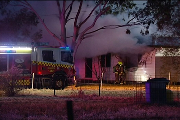 Article image for Child and elderly woman die in Tamworth house fire