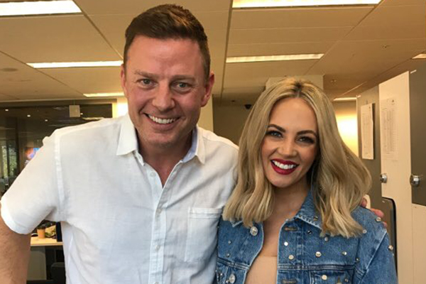 Article image for Ben Fordham and Samantha Jade join forces for a good cause