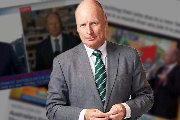 Article image for Ross Greenwood targeted by dodgy scam