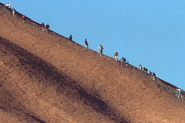 Article image for Controversial Uluru climb to close for good