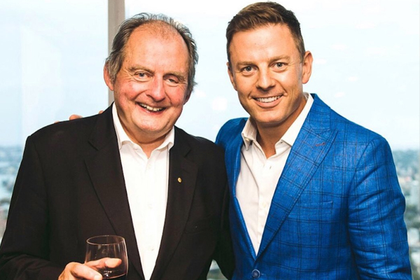 Article image for 'We're doing really, really well': Ben pays tribute to his late dad John Fordham