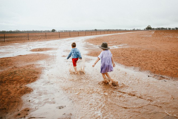 Article image for Farmers rejoicing as much-needed rain hits parts of NSW and QLD