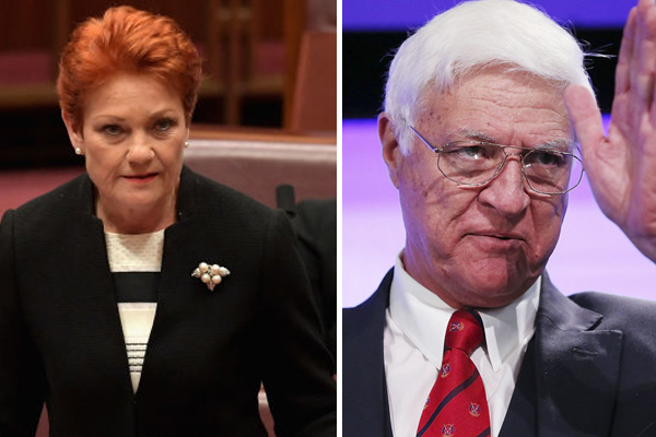 Article image for How the government should deal with drought: Pauline Hanson and Bob Katter