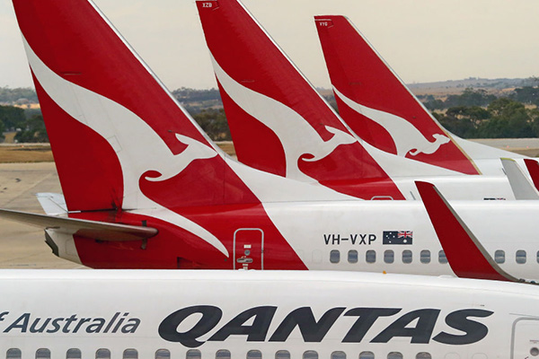 Article image for Qantas executive blames flight delays on climate change