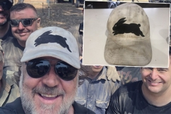 How this 'slightly worn hat' just raised an enormous amount of money for our firefighters
