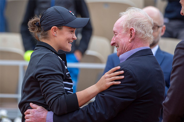 Article image for Why Ash Barty is a cut above the rest: Rod Laver