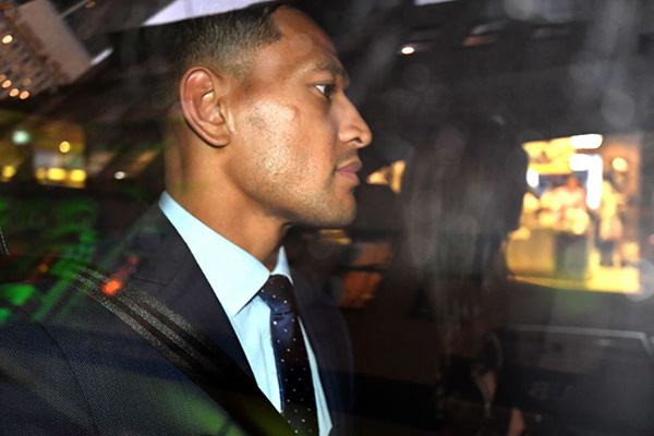 Article image for Israel Folau claims he could have been Wallabies captain