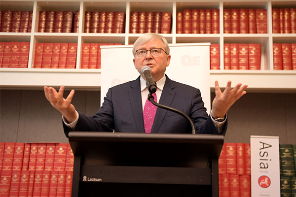 Article image for 'Utterly ridiculous': Kevin Rudd calls for massive population increase
