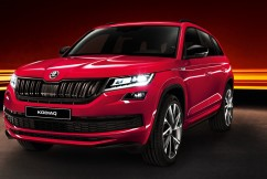Skoda's 7-seat Kodiaq SportLine SUV – ride and comfort high in a sports skewed model.