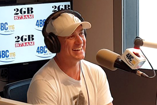 Article image for Shannon Noll joins Ray Hadley live in-studio