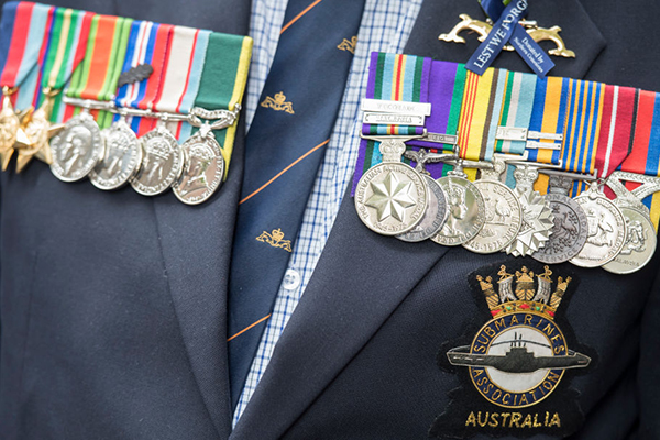 Article image for State government backs a royal commission into veteran suicides