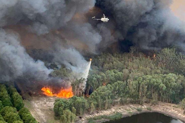 Article image for Environment minister stands by comments linking bushfires to climate change