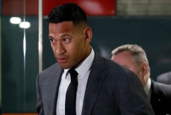 Israel Folau reaches settlement with Rugby Australia