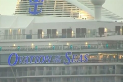 New Zealand volcano: Ovation of the Seas docks in Sydney