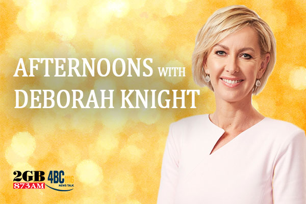 Article image for STARTS MONDAY | Afternoons with Deborah Knight