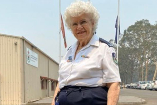 Article image for 'I absolutely love it': Volunteer dedicating decades to the RFS