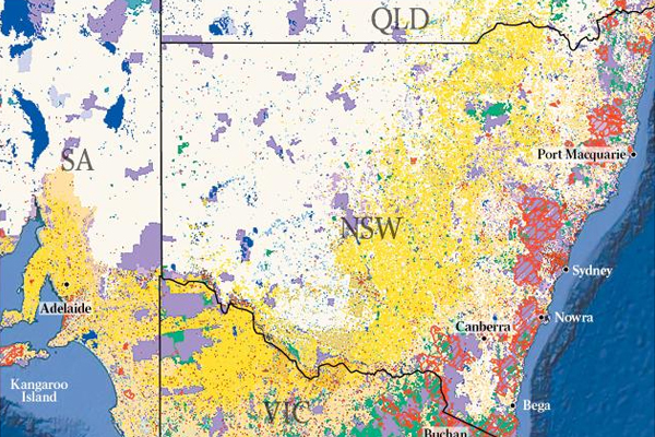 Article image for New satellite maps reveal the true destruction of the bushfires