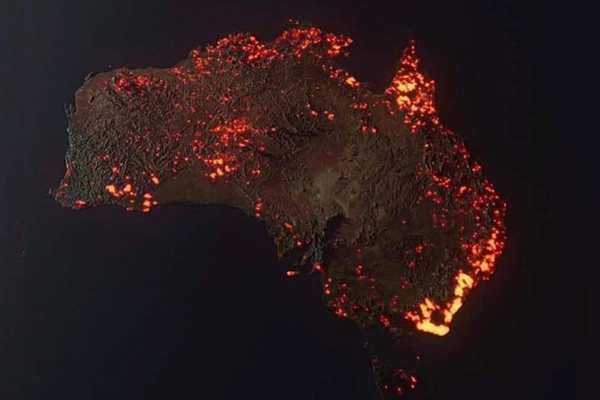 Article image for Fake and misleading bushfire images circulate on social media