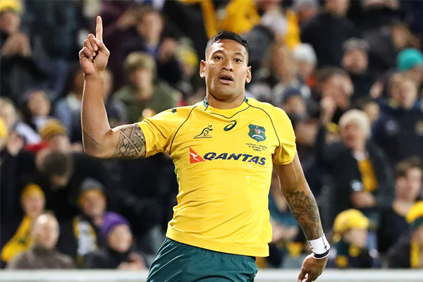 Article image for 'They are furious': NRL outraged as Israel Folau returns to rugby league
