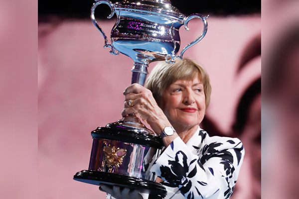 Article image for Alan Jones honours 'humble and caring' Margaret Court
