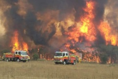 Border fire joins up as conditions escalate