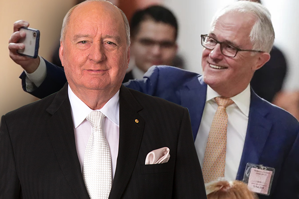 Article image for 'We've had a gutful of you': Alan Jones' scathing message for Malcolm