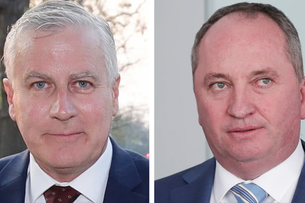 Article image for Barnaby Joyce fails in bid to take Nationals Party leadership