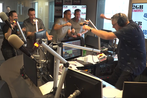 Article image for WATCH | Ray Hadley pranked by Human Nature