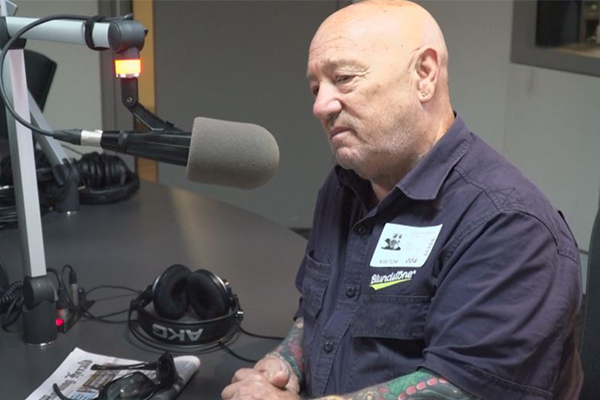 Article image for Angry Anderson reveals what helps him heal after his son's death