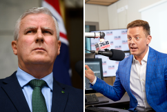 'A gold medalist in the boring department': Ben Fordham hits out at deputy PM
