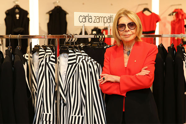 Article image for 55 years of Carla Zampatti: The iconic designer reveals who she loves to dress
