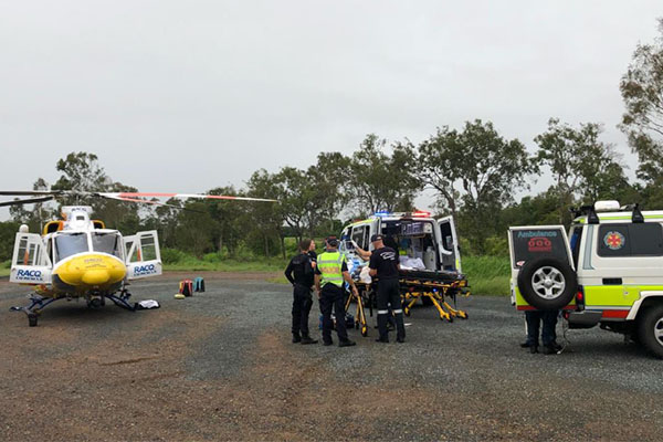 Article image for Horror crash leaves two people dead, major QLD highway closed