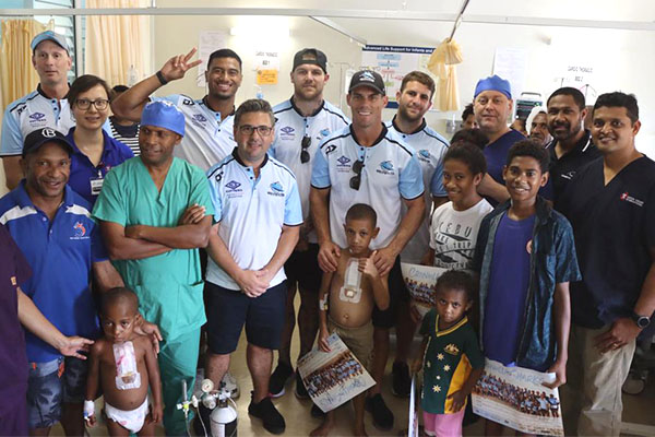 Article image for 'Life-changing' experience for NRL teams in PNG