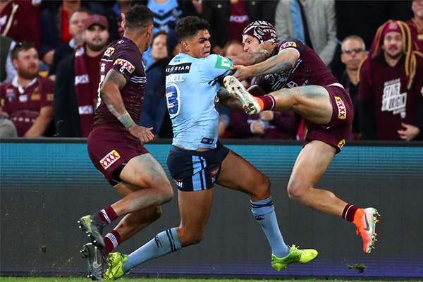 Article image for Blues Coach Brad Fittler reveals key to Latrell Mitchell's Origin future