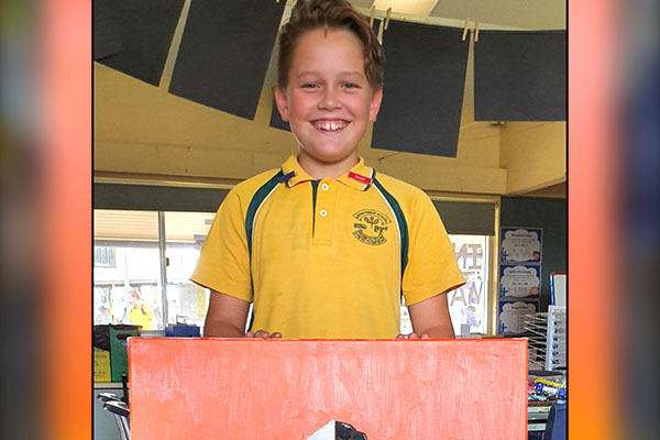 Article image for Year 6 student auctions off 'exceptional' artwork for RFS
