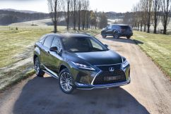 Lexus RX300 Luxury SUV – a lower entry price with improved driving dynamics and features.
