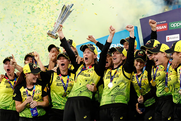 Article image for History made as Australia wins the women's T20 World Cup