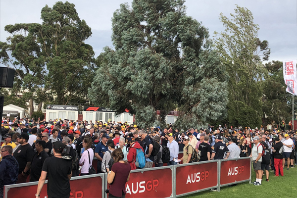 Article image for Decision to cancel the Australian Formula 1 was made last night