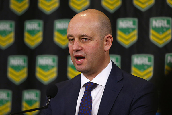 Article image for NRL boss reveals coronavirus impact on the game