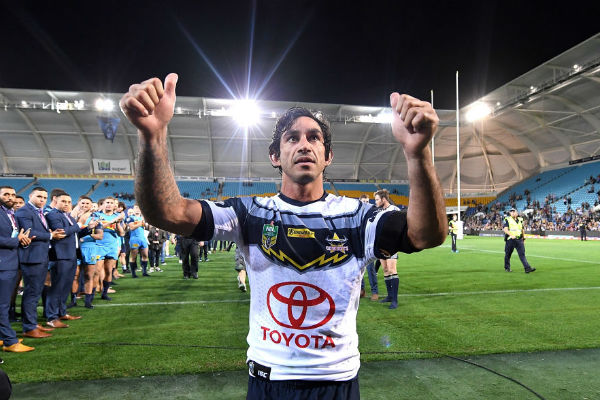 Article image for Johnathan Thurston reveals initial fear of life after footy