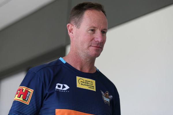 Article image for Justin Holbrook urges NRL officials not to be greedy to complete 2020 season